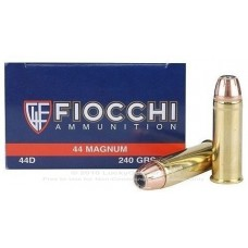 CARTRIDGE FIOCCHI .44REM Magnum SJSP 240gr