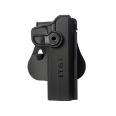 Polymer retention Roto Holster for 1911