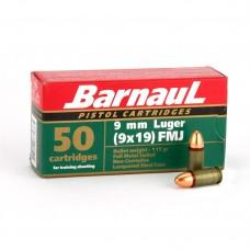 CARTRIDGE BARNAUL 9X19 LUGER FMJ 115gr