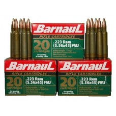 CARTRIDGE BARNAUL .223REM FMJ 62gr