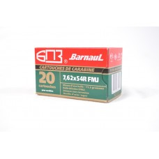 CARTRIDGE BARNAUL 7.62X54R FMJ 174gr