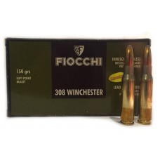 CARTRIDGE FIOCCHI .308WIN FMJBT 150gr