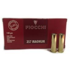 CARTRIDGE FIOCCHI .357 MAGNUM 148gr