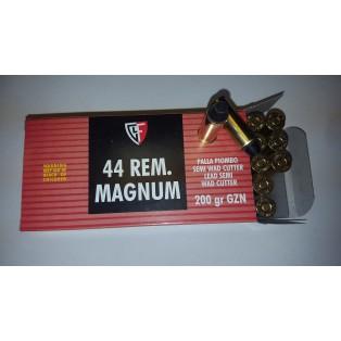 CARTRIDGE FIOCCHI .44REM Magnum LSWC 200  gr GZN