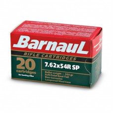 CARTRIDGE BARNAUL 7.62X54R SP 203gr