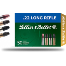 CARTRIDGE SELLIER & BELLOT .22LR HV HP