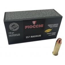 CARTRIDGE FIOCCHI .357 Magnum LL TCCP 158gr