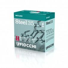 SHOTSHELL FIOCCHI STEEL SHOT 12/70/16 - 0, 35g