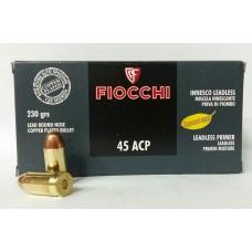CARTRIDGE FIOCCHI .45ACP LL RNCP 230gr