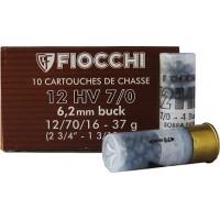 SHOTSHELL FIOCCHI BUCKSHOT 12/70/16 - 37 g