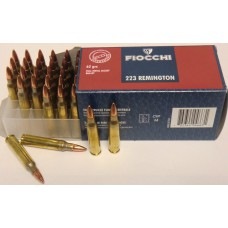 CARTRIDGE FIOCCHI .223REM FMJ 62gr