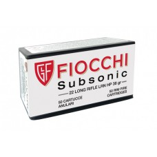 CARTRIDGE FIOCCHI Cal. 22LR LRN HP, Subsonic